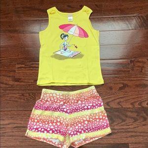 Little girl Gymboree set